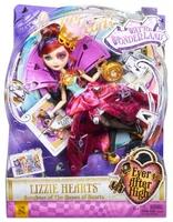 Кукла Ever After High Лиззи Хартс Дорога в Страну Чудес