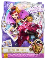 Кукла Ever After High Лиззи Хартс Дорога в Страну Чудес