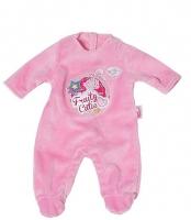 Одежда для куклы Baby Born Zapf Creation 822128 (розовый)