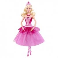 Кукла Barbie Балерина в розовых пуантах X8810