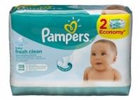 Детские влажные салфетки Pampers Fresh Clean, 128 шт