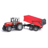 Bruder Трактор с прицепом Massey Ferguson 7480 02045 Брудер
