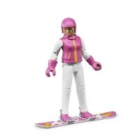 Bruder Фигурка сноубордистки 60420 Брудер