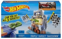 Трек Hot Wheels Тройная Мишень