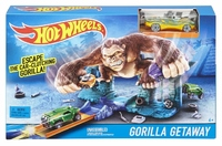 Трек Hot Wheels Побег от гориллы