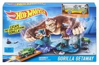 Трек Hot Wheels Побег от гориллы
