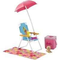 Набор мебели для отдыха Barbie Пикник DXB69/DVX49