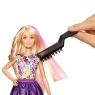 Игровой набор Barbie Цветные локоны DWK49