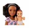 Кукла Barbie Няня с аксессуарами FHY99