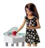 Кукла Barbie Няня с аксессуарами FJB01