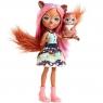 Кукла Enchantimals с питомцем Санча Белка FMT61