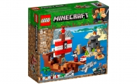 Lego Minecraft 21152 Пиратский корабль Лего Майнкрафт