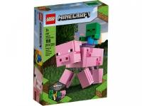 Lego Minecraft 21157 Свинья с малышом Зомби Лего Майнкрафт