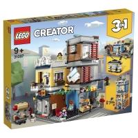 Лего Креатор Зоомагазин и кафе в городе Lego Creator 31097