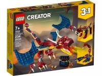 Lego Creator 31102 Огненный дракон Лего Креатор