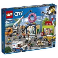Лего Сити Открытие магазина пончиков Lego City 60233