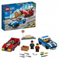 Lego City 60242 Арест на шоссе Лего Сити