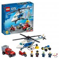 Lego City 60243 Погоня на полицейском вертолёте Лего Сити