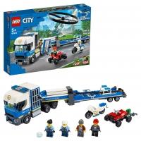 Lego City 60244 Полицейский вертолётный транспорт Лего Сити