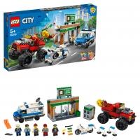 Lego City 60245 Ограбление полицейского монстр-трака Лего Сити