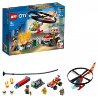 Lego City 60248 Пожарный спасательный вертолёт Лего Сити