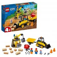 Lego City 60252 Строительный бульдозер Лего Сити