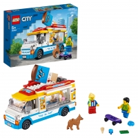 Lego City 60253 Грузовик мороженщика Лего Сити