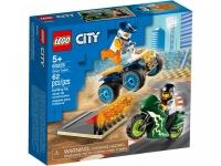 Lego City 60255 Команда каскадёров Лего Сити