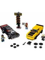 Лего 75893 Додж Чэленджер 2018 и Додж Чарджер 1970 Lego Speed Champions