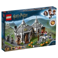 Лего Гарри Поттер Хижина Хагрида спасение Клювокрыла Lego Harry Potter 75947