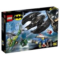 Лего Супер Герои Бэткрыло Бэтмена и ограбление Загадочника Lego Super Heroes 76120