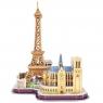 3D Пазлы Достопримечательности Парижа MC254H