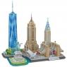 3D Пазлы Достопримечательности Нью-Йорка MC255H