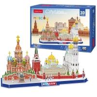 3D Пазлы Достопримечательности Москвы MC266H