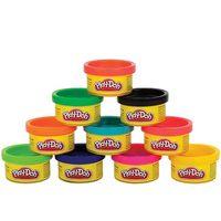 Play-Doh Большой набор пластилина для праздника (10 банок)