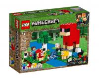 Лего Майнкрафт Шерстяная ферма Lego Minecraft 21153