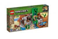 Лего Майнкрафт Шахта крипера Lego Minecraft 21155