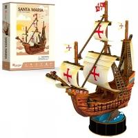 3D Пазлы Корабль Санта Мария T4031H