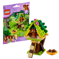 Лего Френдс Домик белки Lego Friends 41017