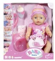 Кукла Baby Born Интерактивная Малышка Беби Борн Zapf Creation 43 см 822005
