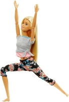 Кукла Barbie Безграничные движения Йога Блондинка FTG81