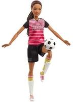 Кукла Барби Футболистка Безграничные движения Barbie Made To Move FCX82
