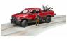 Джип Bruder Dodge RAM 2500 с мотоциклом Ducati 02502