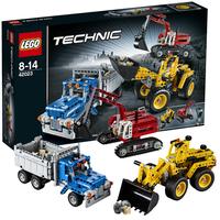 Строительная команда Лего Техник 42023
