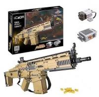 Cada конструктор Штурмовая винтовка Scar c81021w