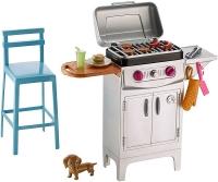 Набор мебели для отдыха Barbie Барбекю Барби DXB69/DVX48