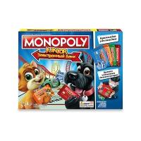 Настольная игра Монополия Джуниор с картами e1842