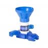 Дикие Скричеры Бластер для дисков синий и машинка 36574
