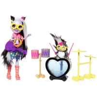Набор Enchantimals кукла Сейдж Скунси и питомец Кейпер FRH41