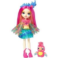 Кукла Enchantimals с питомцем Пикки Какаду FJJ21